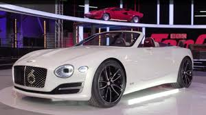 old white bentley video rory reid and the bentley exp 12 speed 6e top gear