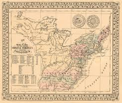 the thirteen colonies map 1776 map of the original thirteen colonies barry