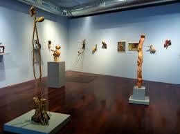 susan lyman sculpture in wood at boston sculptors gallery