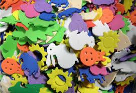 garden foam stickers value pack