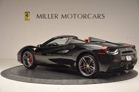 ferrari 488 custom 2017 ferrari 488 spider stock 4411 for sale near westport ct