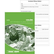 collins accident injury investigation register book officemax nz