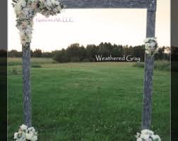 wedding arbor kits wood wedding arch etsy