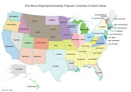 most popular cuisines popular cuisines in each us state all about america