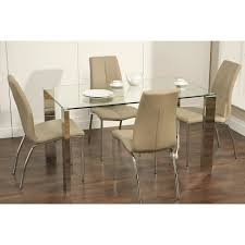 Faux Leather Dinning Chairs Kansas Stone Faux Leather Dining Chair