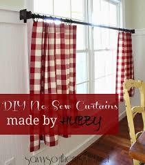 Sewing Cafe Curtains Best 25 Half Curtains Ideas On Pinterest Kitchen Window