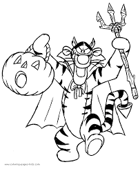 fancy plush design halloween coloring pages dracula winnie