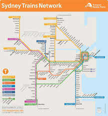 Chicago Train Map by Sydney Train Map Sydney Train Line Map Australia