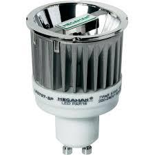 megaman 7w gu10 led reflector bulb mm27022 from conrad com