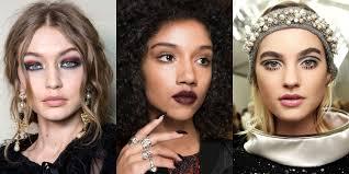 fall 2017 makeup trends fall 2017 runway makeup ideas