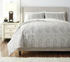 buy ashley furniture paisley gray duvet cover set