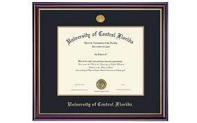 ucf diploma frame of central florida