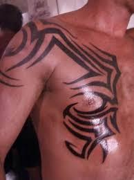 tattoos tribal tattoos chest designs