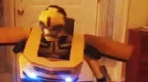 Transformer Halloween Costume Transforms Boy U0027s Homemade Transformer U0027bumblebee U0027 Costume