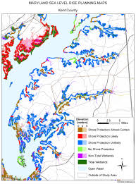 Ocean City Md Map Sea Level Rise Planning Maps Likelihood Of Shore Protection In