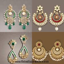 fancy earing fancy gold earrings from tbz models gold and indian jewelry