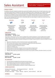 Retail Resume Examples by Retail Cv Template Sales Environment Sales Assistant Cv Shop