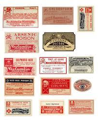 vintage poisons halloween bottles u0026 free printables