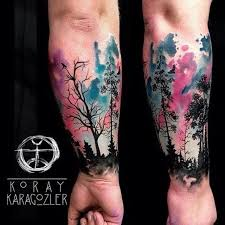 best 25 tree sleeves ideas on wolf sleeve