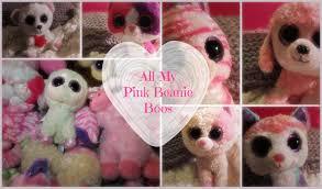 pink beanie boos