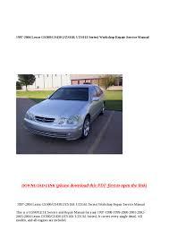 lexus gs430 timing belt replacement cost 1997 2004 lexus gs300 gs430 jzs160 uzs161 series workshop