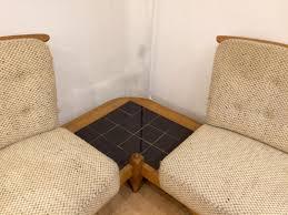 restaurer un canap d angle canapé d angle en chêne par guillerme et chambron pour votre maison