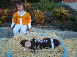 Halloween Costumes Football Player Boy Homemade Football Player Halloween Costume