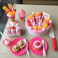 anniversaire cuisine bébé coupe alimentaire ensemble heureux gâteau d anniversaire jouet