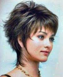 how to cut a short ladies shag neckline best hairstyle for fine thin hair short shag haircuts short shag