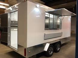 food trailer exhaust fans custom built standard 8 16 food trailer specifications and pricing