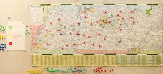 Map Of Nashville Tn File Fema 44675 Logistics Maps Locations Of Disaster Recovery