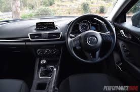 Mazda 3 Interior 2015 2015 Mazda3 Neo Review Video Performancedrive