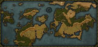 Fantasy World Map by Worldtemplate3 13rdgygk1j Jpg Jpeg Image 3840 1855 Pixels