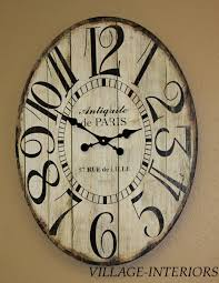 Oval Office Clock by French Country Cottage Antiquite De Paris Market 23