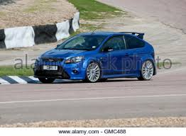 high performance ford focus ford focus rs mk2 high performance hatch car stock photo