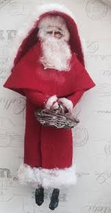 antique santa die cut scraps raphael tuck germany