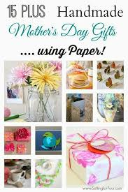 mothers gifts diy s day gifts handmade using paper setting for four