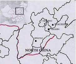 Tianjin China Map Tangshan Earthquake 1976 Disasterhistory Org