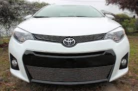 Toyota Corolla 2001 S 2016 Toyota Corolla S 3pc Upper U0026 Bumper Billet Grille Kit