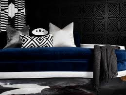 Peroconlagr Blue Accent Wall Bedroom Ideas Plus Blue Accent Wall - Blue and black bedroom designs