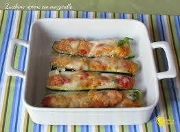 giallo zafferano cucina vegetariana zucchine ripiene con mozzarella ricetta il chicco di mais