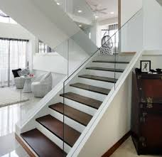 Glass Stair Handrail The 25 Best Glass Stair Railing Ideas On Pinterest Glass Stairs