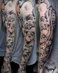 skulls sleeve best ideas gallery tattoos inspo