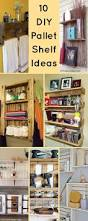 Diy Shelves For Bathroom by 10 Diy Wood Pallet Shelf Ideas 1001 Pallet Ideas