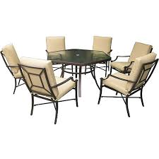 Hexagon Patio Table Laredo 7 Sling Hexagon Patio Dining Set Seats 6 Patio