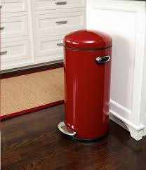 charming cube silver stainless steel kitchen trash can innovative full size of kitchen modern round red stainless steel kitchen trash can elegant in any