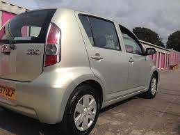2007 daihatsu sirion 5 door 998 cc 30 tax mot 09 18 1199 in