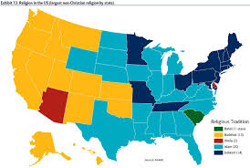 united states of islam map 2016 religion in america one nation gods zero hedge