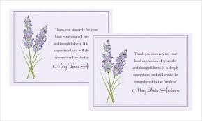how to write thank you cards for funeral free u0026 premium templates