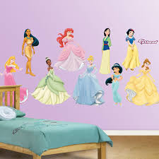 disney princess wall stickers home design amazon com fathead disney princess collection graphic wall decor home u0026 kitchen great
